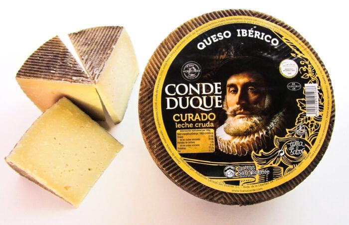 queso ibérico curado conde duque