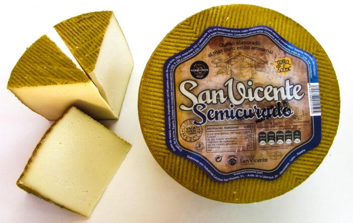 queso semicurado san vicente