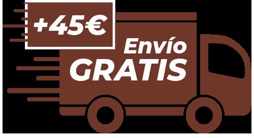 Envíos gratis en pedidos de mas de 45€